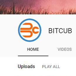 BITCUB is Now on Youtube!